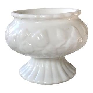 Vintage Milk Glass Dish For Sale