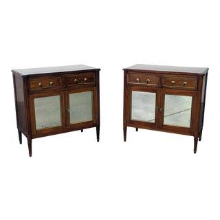 20th Century Regency Maison Jansen Directoire Style Cabinets - a Pair For Sale