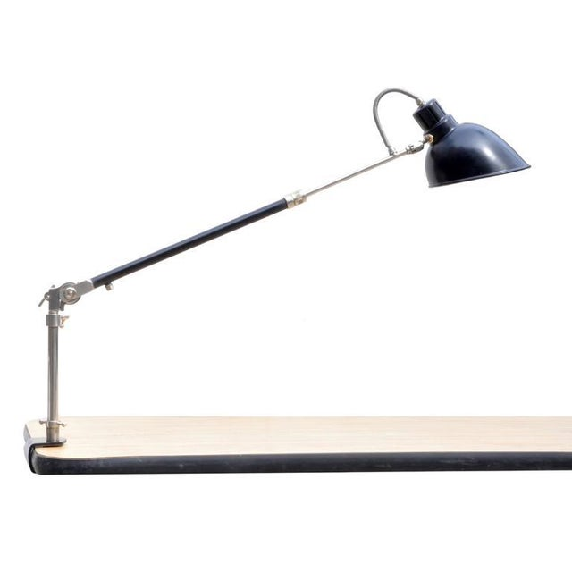 Architect Clamp Lamp From Alfred Muller for Amba, Switzerland For Sale