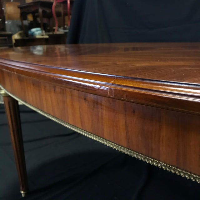 Mid 19th Century Louis XVI Style Oval Fruitwood Dining Table For Sale In Portland, ME - Image 6 of 12