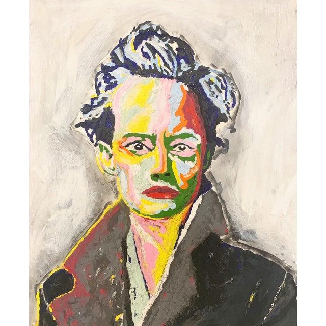 John O'Hara. Av. Encaustic Painting. For Sale - Image 4 of 10