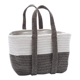 Farmhouse Square Basket 16x14x16 Bark