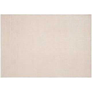 Stark Studio Rugs Contemporary New Oriental Tibetan 50% Wool/50% Viscose Rug - 9′ × 12′ For Sale