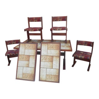 1960s Mobler Danish Modern Brazilian Rosewood Dining Set - 7 Pieces For Sale