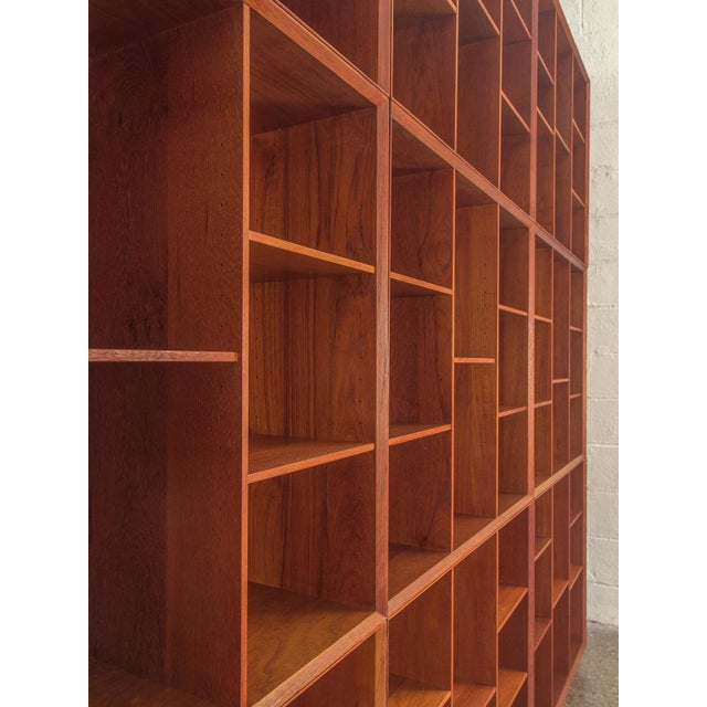 Modular Wall of Stacking Bookcases - Image 9 of 11
