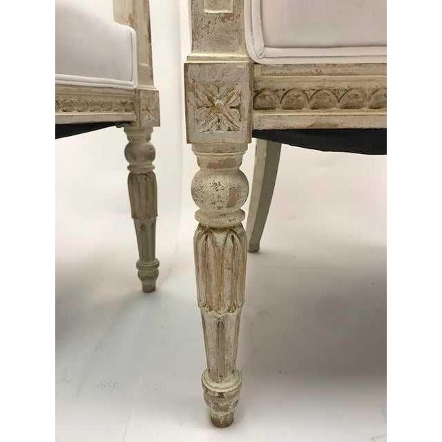 Gustavian Chairs With Pharaoh Heads - A Pair For Sale In Houston - Image 6 of 9