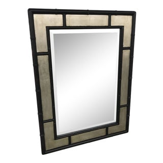 Bassett Faux Bamboo Mirror For Sale