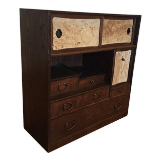 Antique Asian Tansu Chest