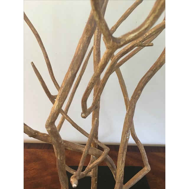 Arteriors Dunston Iron Tree Sculpture - Image 3 of 4
