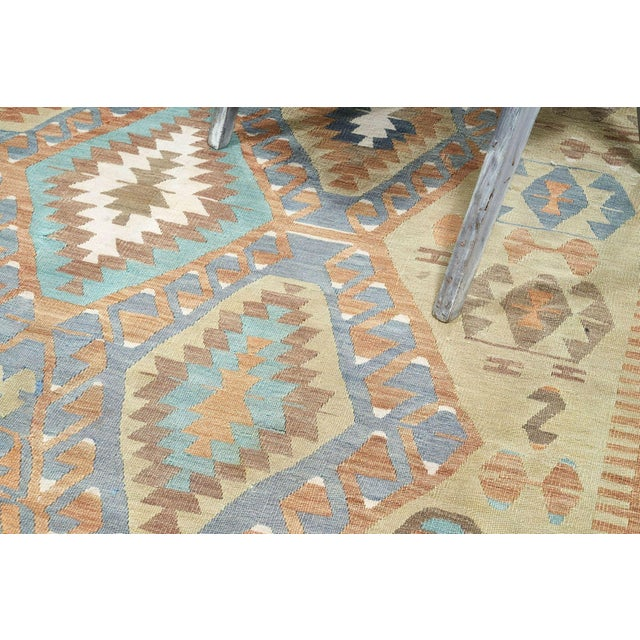 Marrying quality construction with appealing design, this Kilim rug is destined to become one of your favorite home décor...