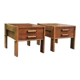 1960s Mid Century Lane Altavista Side Tables - a Pair For Sale