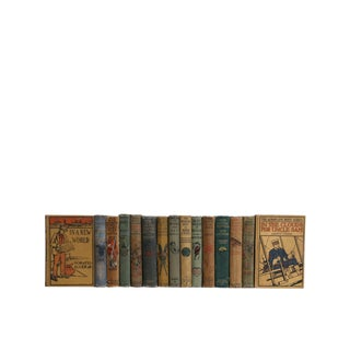 Outdoor Adventure Stories : Set of Fifteen Decorative Books