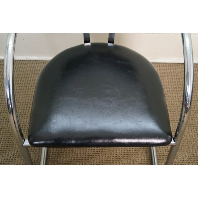 Chromecraft Vintage Mid Century Modern Arm Chair For Sale - Image 7 of 10