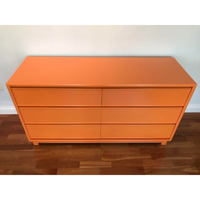 Clean lines of this Kroehler Mid-Century-Modern double dresser/chest with a new finish is going to be the talk of the...