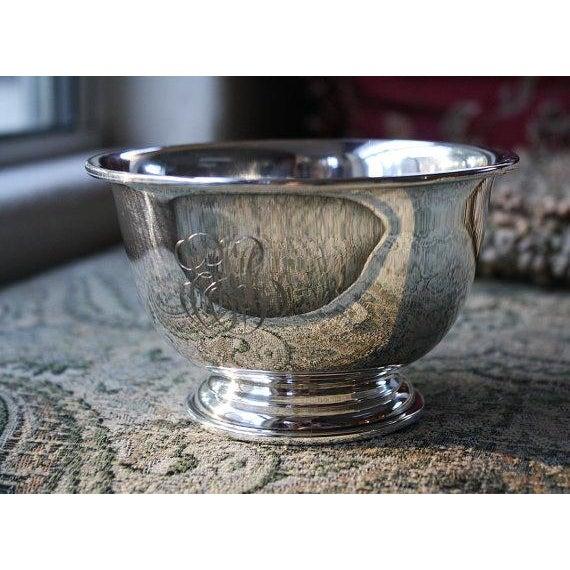 Baldwin & Miller Vintage Sterling Paul Revere Bowl - Image 2 of 5