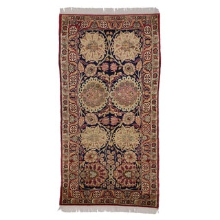 Antique Persian Kermanshah Rug with Traditional Style