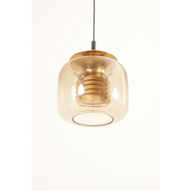 Mid-Century Modern 1960s Pendant Lamp in Manner of Hans-Agne-Jakobsson For Sale - Image 3 of 12