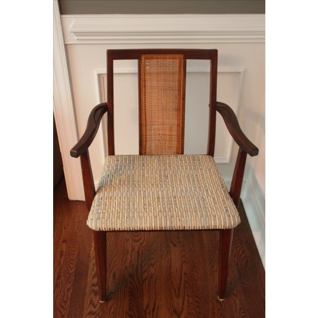 Mid-Century Hibriten Cane Back Chairs - Set of 6 - Image 6 of 11
