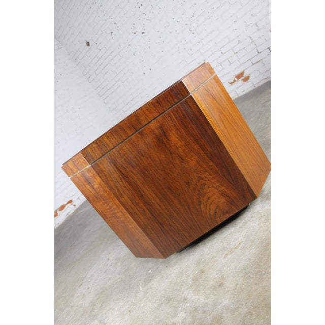Vintage Founders Furniture Cabinet Table For Sale - Image 5 of 11