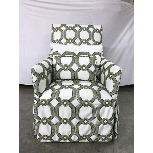 Highland House Highland House Blakley Swivel Chair For Sale - Image 4 of 4