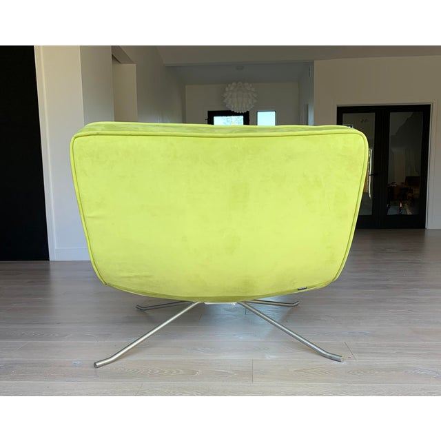 Ligne Roset Ligne Roset Pop Chair and Ottoman by Christian Werner For Sale - Image 4 of 9