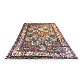 Persian Sarouk 4 Season Design Rug - 6′3″ × 10′10″ For Sale
