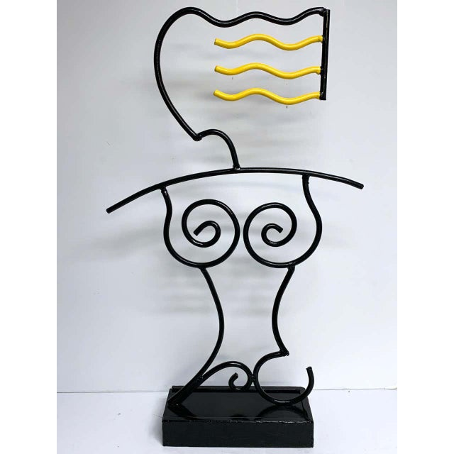 """Late 20th Century Modern Enamelled Iron """"Sunbather"""" Sculpture For Sale - Image 5 of 13"""