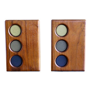 Mid-Century Modern Martz Bookends for Marshall Studios - a Pair For Sale