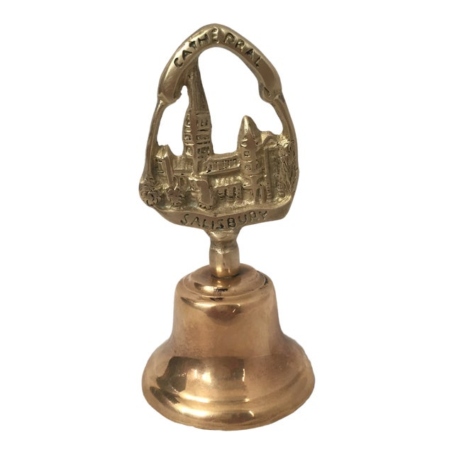 Early 20th Century English Salisbury Cathedral Brass Bell For Sale