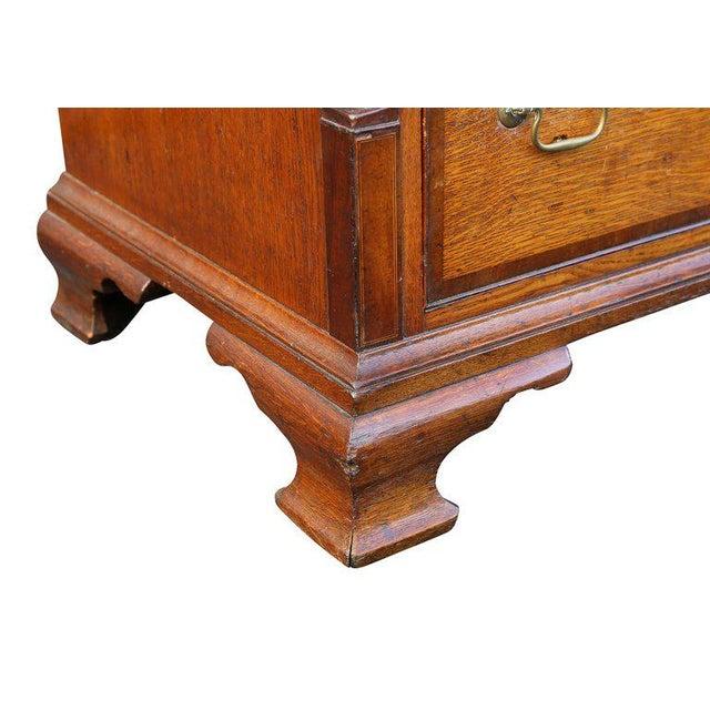 Mahogany George III Oak and Mahogany Dresser or Sideboard For Sale - Image 7 of 10