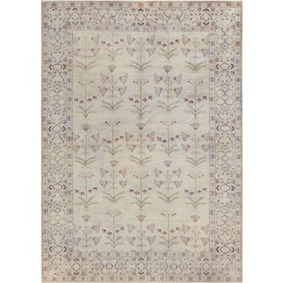 """Mansour Genuine Handwoven Agra Rug - 6'2"""" X 8'8"""" For Sale"""