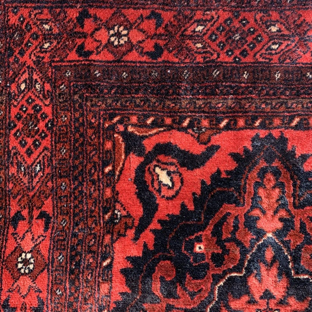 Late 20th Century Kahn Mohamadi Rug - 4′2″ × 6′3″ For Sale - Image 9 of 10