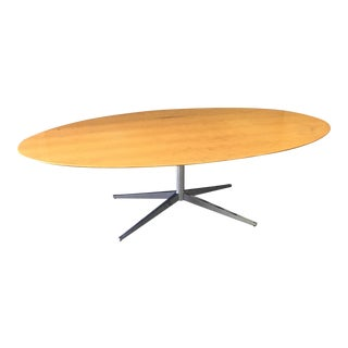 Florence Knoll Oak Conference Table
