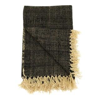 Moroccan Wool Fringe Blanket