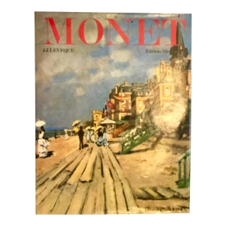 1980s Vintage Monet Coffee Table Book For Sale