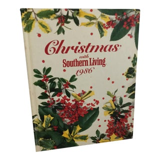 1986 Christmas With Southern Living Book For Sale