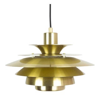 Danish Vintage Pendant Lamp Verona by Jeka, Denmark, 1980s For Sale