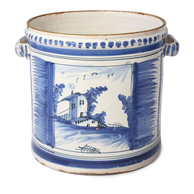 Nevers Faience 'Pot a Oranger' For Sale - Image 13 of 13