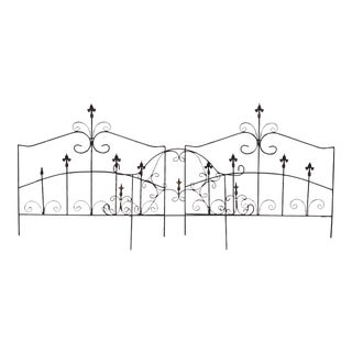 French Garden Fleur-De-Lis Gates** - Set of 2 For Sale