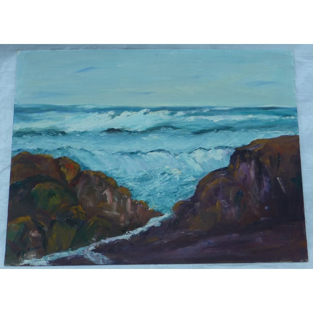 H.L. Musgrave Mid-Century North Shore Painting - Image 2 of 7