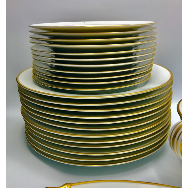 Mid-Century 1940s Noritake Goldcroft China - Set of 25 For Sale In New York - Image 6 of 11