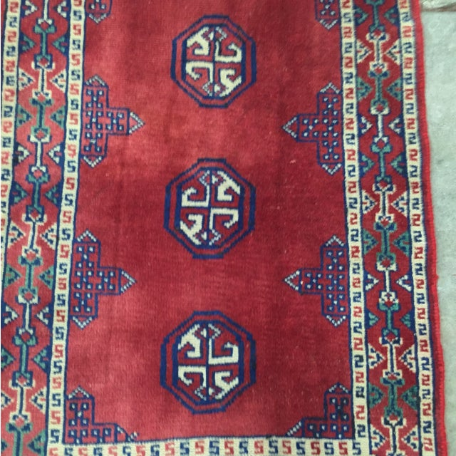Turkaman Red Persian Rug - 2′2″ × 3′1″ - Image 4 of 8