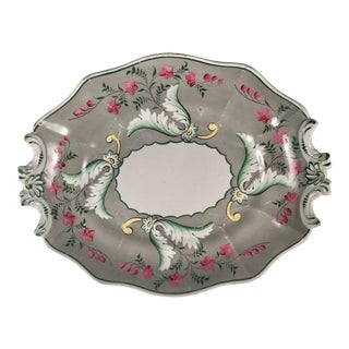 19th C English Pearlware Plate For Sale