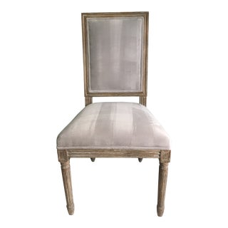 Modern Louis XVI Dining Chair For Sale