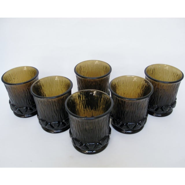 Mid-Century Modern Fostoria Old Fashioned Glasses - Set of 6 For Sale - Image 3 of 7