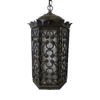 Gothic Style Lantern Pendant For Sale