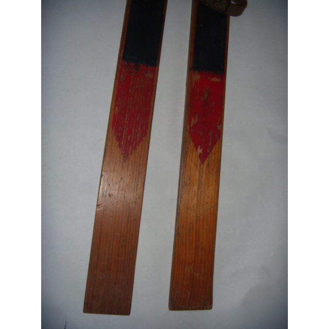 Vintage Wood Child's Skis - A Pair - Image 6 of 7
