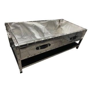 Eichholtz TransAtlantic Steamer Trunk Coffee Table For Sale