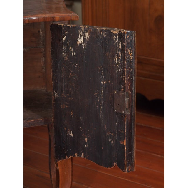 Brown Petit Louis XV Cabinet For Sale - Image 8 of 12