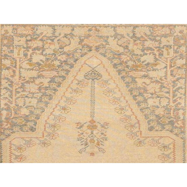"""1940s Antique Turkish Kaisary Rug - 4'6"""" x 6' For Sale - Image 5 of 5"""